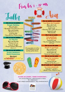 Programme estival ALSH 2017